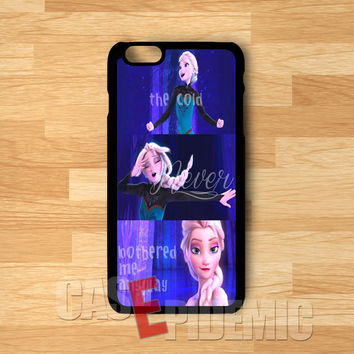 Princess Elsa Quote the Cold Never -tri for iPhone 6S case, iPhone 5s case, iPhone 6 case, iPhone 4S, Samsung S6 Edge