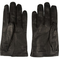 Alexander McQueen Leather gloves – 56% at THE OUTNET.COM
