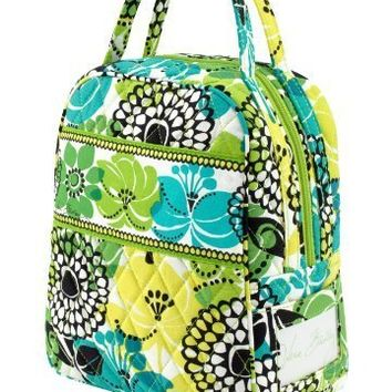 Vera Bradley Lime's Up Lunch Bunch Lunch Box or Cosmetic Case