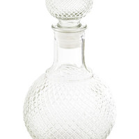 ModCloth Vintage Inspired Container Your Excitement Decanter