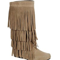 Fringe Crush Boots
