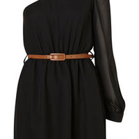 Asymmetric Cut Out Dress by Rare** - Dresses  - Clothing  - Topshop