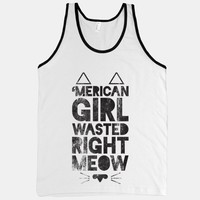 'Merican Girl Wasted Right Meow | HUMAN