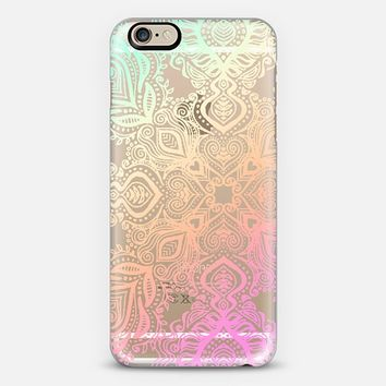 Bold Love Tropical Pastels Lace iPhone 6 case by Micklyn Le Feuvre   Casetify