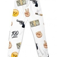 killa emoji joggers | sweatpants + jogging pants | 7twentyfour.com