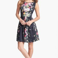 Ivy & Blu for Maggy Boutique Print Fit & Flare Dress | Nordstrom