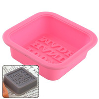 New Hot Durable Silicone Handmade Soap Mold Chocolate Ice Tray Candle Making Sugercraft 100 Percent Hand Made