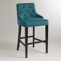 Pacific Blue Lydia Barstool - World Market