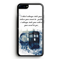 Tardis Doctor Who Minecraft iPhone 7 Plus Case | aneend