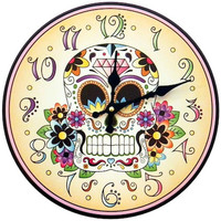 Day of the Dead - Clock