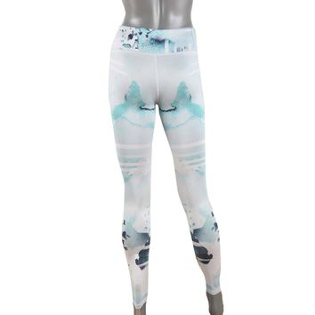 Women Compression Tights 3D Print Leggings Sports Gym Yoga
