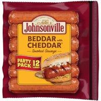 Johnsonville Better Cheddar Smoked Pork Sausage