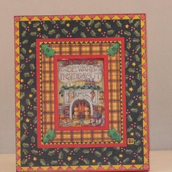 Mary Engelbreit Be Warm Inside and Out Holiday Frame-77916