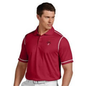 NCAA Alabama Crimson Tide  National Champions Icon Dry Tech Polo by Antigua