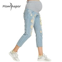 Pants For Pregnant Maternity Clothing Trousers Belly Women Clothes Trousers Pregnancy women for clothing Cropped legging Jeans