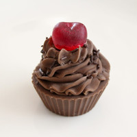 Chocolate Buttercream Cupcake Soap by BakedSoapCo on Etsy