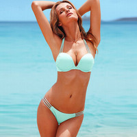 Hot Summer Swimsuit New Arrival Beach With Steel Wire Sexy Swimwear Ladies Bikini [6532821191]