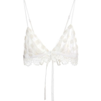 Impeccable Bralette Cream