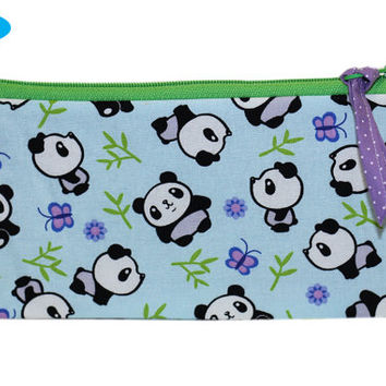 NEW Panda Pencil Pouch | Pencil Holder | Pencil Case | Panda Bears | Kawaii