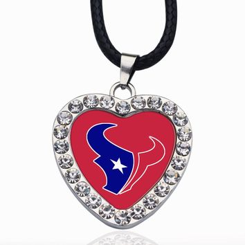 Wimpy kid Houston Texans Pendant Necklace Best Gift for /Women/Girl/Men/Mom Lobster Clasp Link Chain Necklace Jewelry