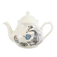 Badger And Hedgehog Design Teapot