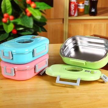 710ml High Quality Stainless Steel Thermal Lunch Boxs Vacuum Insulated Lunch Boxs Insulation Box Food Container For Home Office
