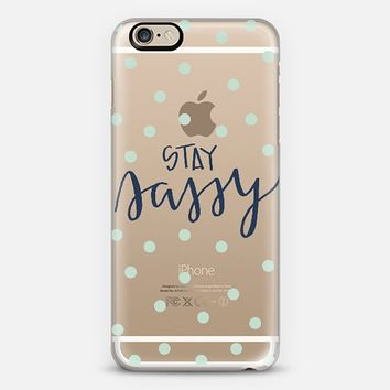 stay sassy - mint dots iPhone 6 case by Chalkfulloflove | Casetify