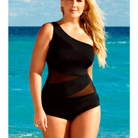 One Piece Swimsuits for Plus Size Women | One Piece Swimwear  | Sonsi