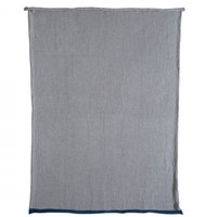 essential knitted cotton blanket / two sizes