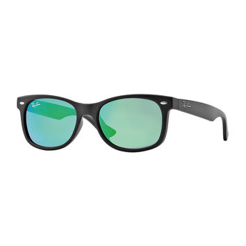 Children's Mirrored Wayfarer Sunglasses - Ray-Ban Junior