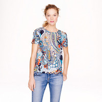 MOONGLOW PAISLEY SILK TEE