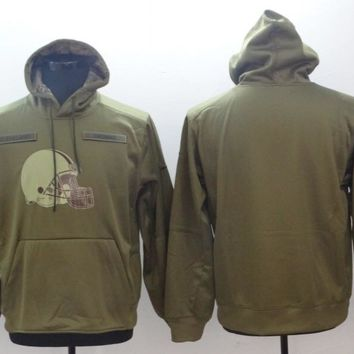 Cleveland Browns Salute to Service Hoodie Green
