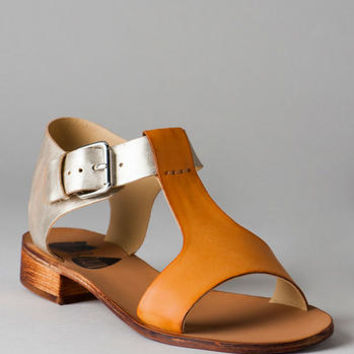 TULIP & RAIN SHOES, RELEVANT TWO-TONE SANDAL