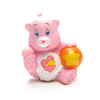 Baby Hugs Bear Playing with her Ball Care Bears Miniature Figurine