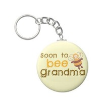 Soon to be Grandma Keychains from Zazzle.com