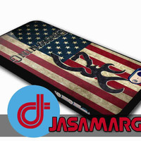 Browning Deer on flag US - Rubber Case, Plastic Case for iPhone 4/4s, 5/5s, 5c and Samsung S3, S4