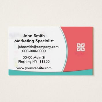 Cute Colors Business Card