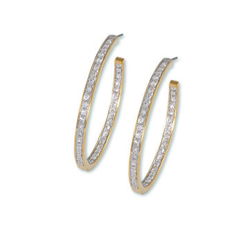 Pave inside/outside 50mm hoops