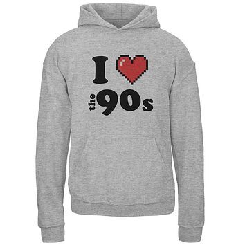 I Heart The 90s Youth Hoodie