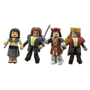 Universal Monster Hunchback of Notre Dame Mini Mates 4 Figure Set