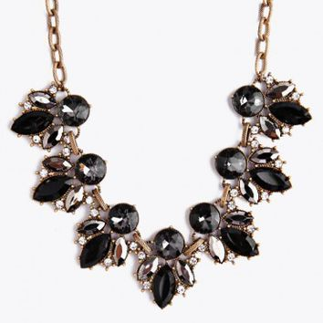 New Blooms Jeweled Necklace