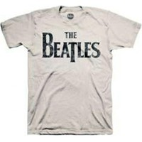 Beatles Distressed Logo T-Shirt