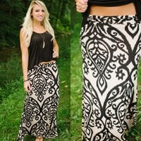 Deja Vu Maxi Skirt - Piace Boutique