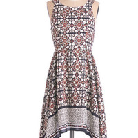 ModCloth Boho Mid-length Sleeveless Mid-Atlantic Miss Dress