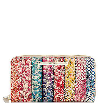 Brahmin Multi Coronado Collection Suri Snake-Embossed Wallet | Dillards.com