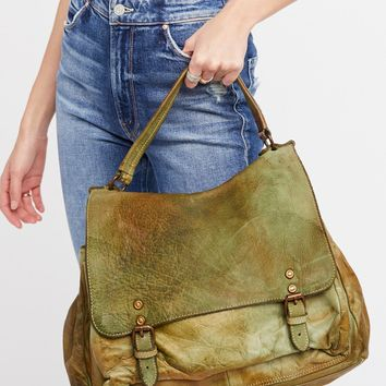 Free People Firenze Leather Messenger