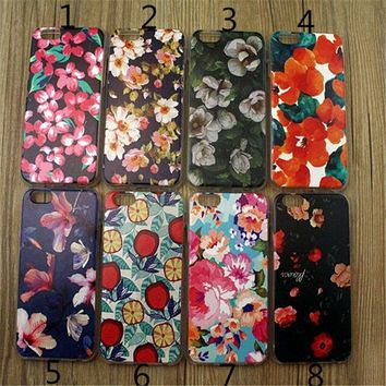 floral print iphone 5 5s 6 6s 6 plus 6s plus case gift very light case 25 2