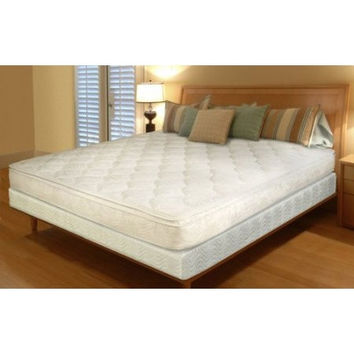 Queen-Size 11 Inch Thick Inner-Spring Pillow Top Mattress In A Box