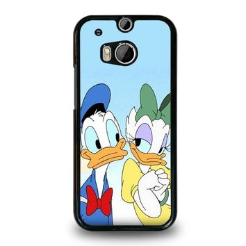 DONALD AND DAISY DUCK Disney  HTC One M8 Case Cover