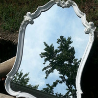 Simply Beautiful Ornate Vintage Mirror